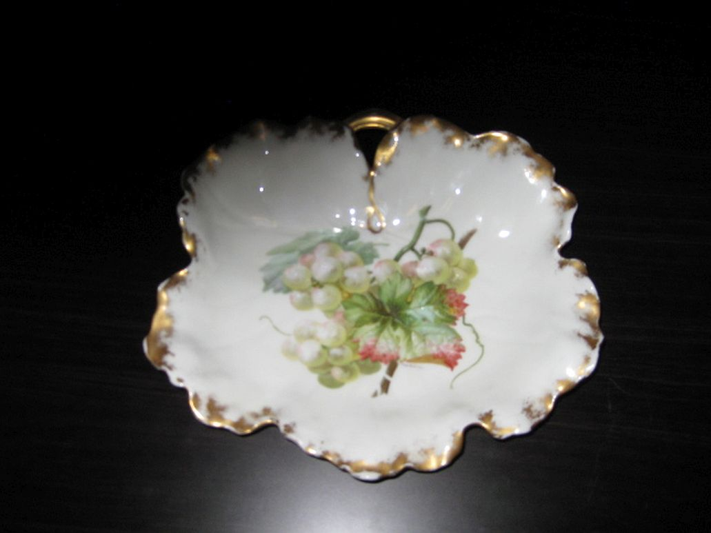 C7. Limoges 19th cent. candy dish