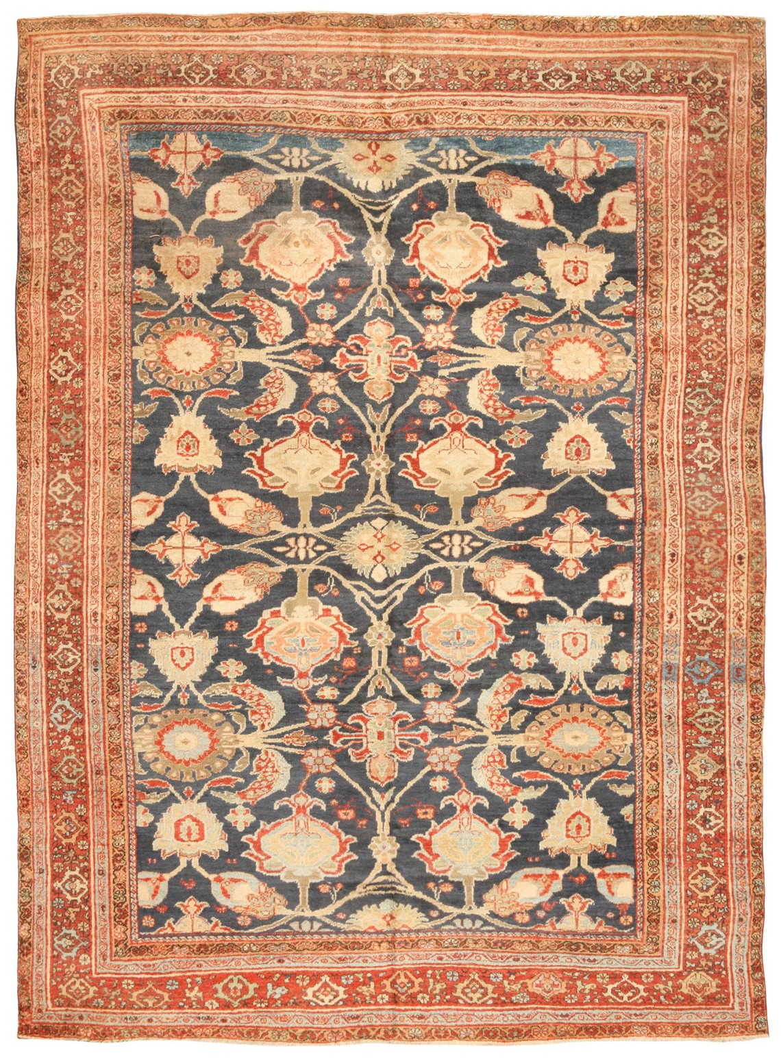 AR40. Sultanabad 7.4 x10.3 c. 1880