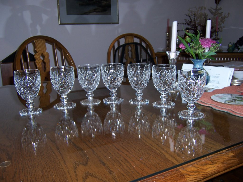 T3. Waterford Goblet - large size