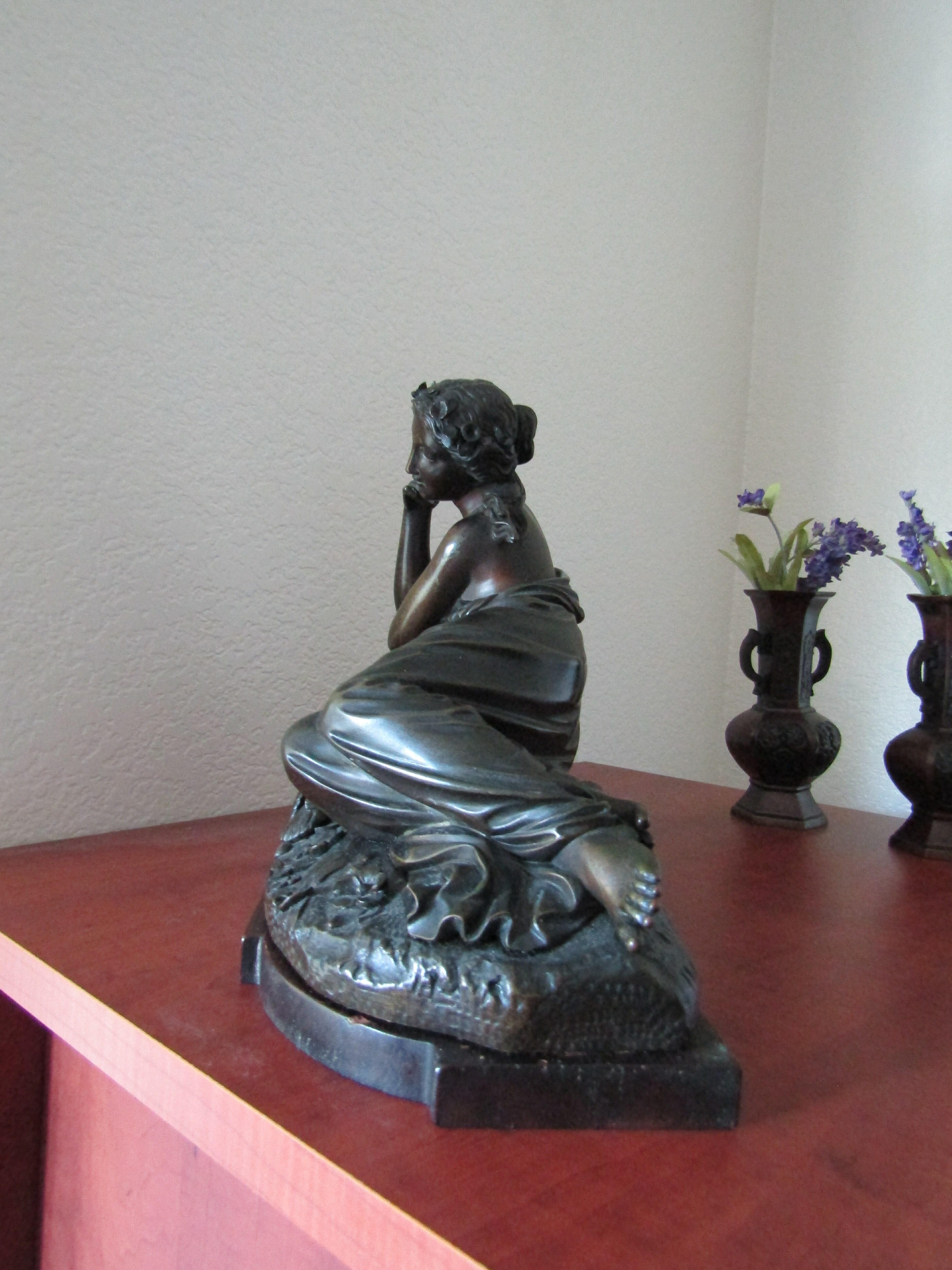 Bronze lady 3